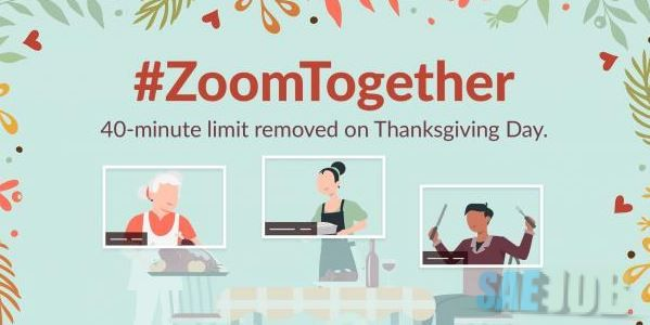Unlimited video calling facility on zoom in this Thanksgiving Day